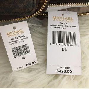 Michael Kors Bags - Michael Kors Large Ciara Satchel & wallet
